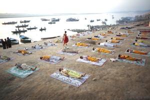 Varanasi, Kedar Ghat 2010