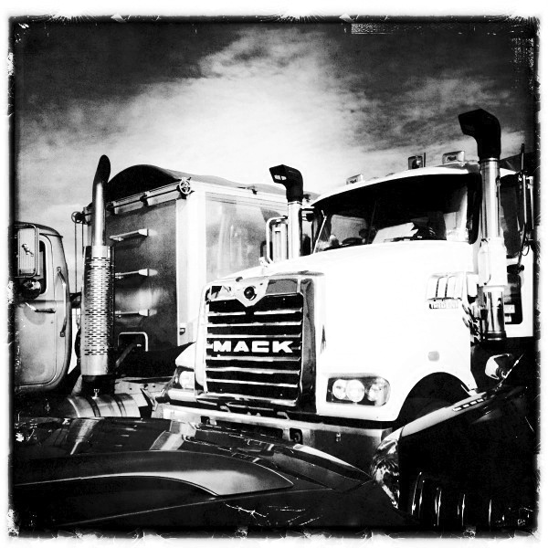 Mack Truck..Stradbroke Island Ferry