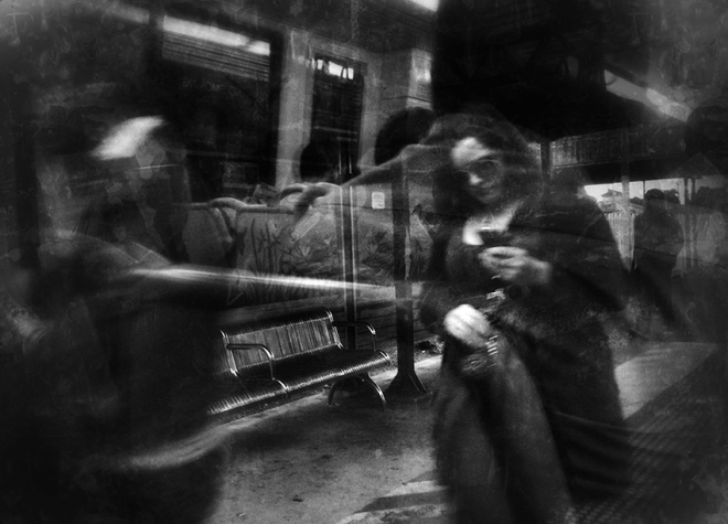 "from the series ""The Commute"" photography: Russell Shakespeare"