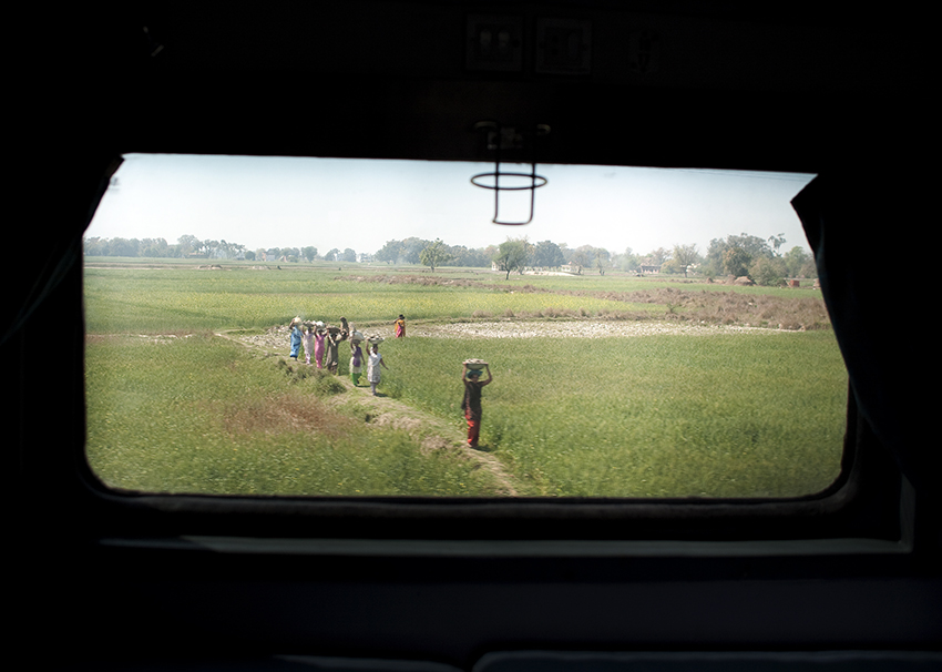 view from Train window..photography: Russell Shakespeare