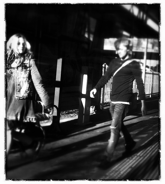 """""""The Commute"""" view from my train window. photography copyright: Russell Shakespeare"""