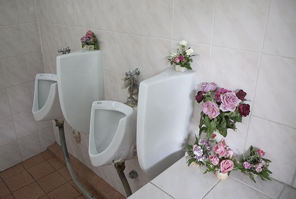 """Urinal"" Bangkok International Airport photo copyright : Russell Shakespeare"