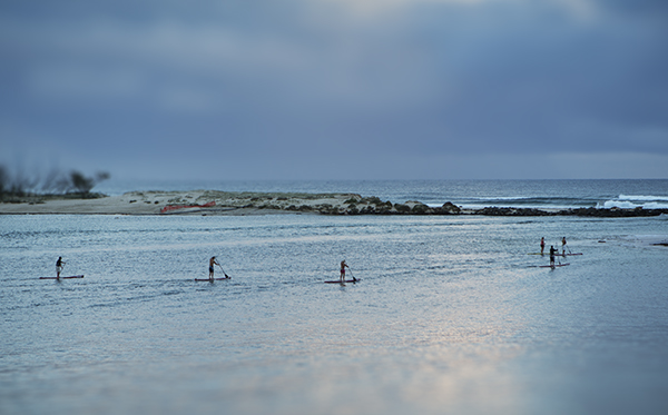 """Paddleboards""...Currumbin Creek. photo copyright: Russell Shakespeare"