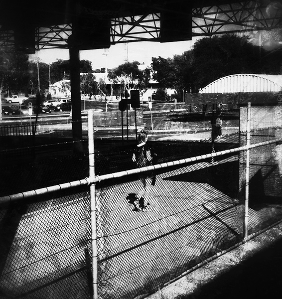 view from my train window.. Beenleigh Station. copyright: Russell Shakespeare