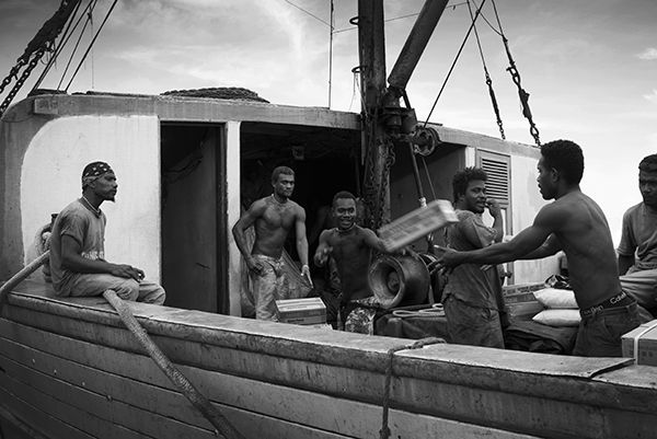 """Workers"" Munda, Solomon Islands. photography copyright: Russell Shakespeare"