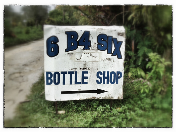 Bottle Shop, Munda, Solomon Islands. photo copyright : Russell Shakespeare