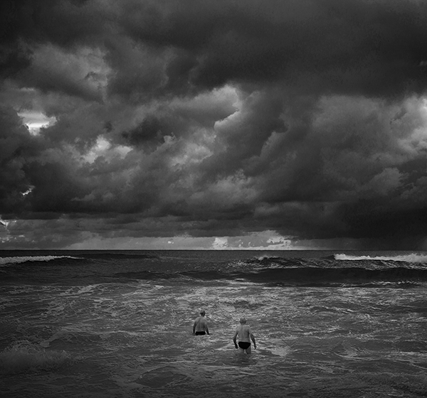 """Swimmers"" Currumbin Beach, Gold Coast, Australia. photo copyright: Russell Shakespeare"