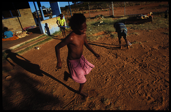 Papunya Cricket, Central Australia. photo copyright: Russell Shakespeare
