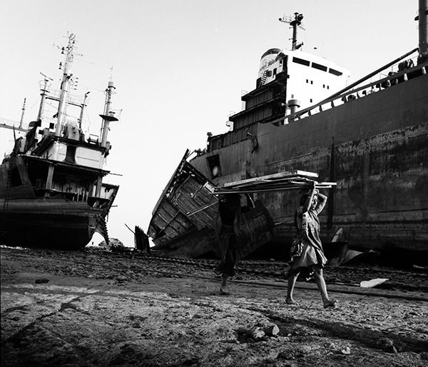 Alang Shipyards, India. photo  copyright: Russell Shakespeare