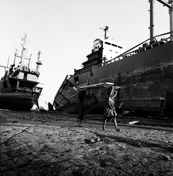 Shipyards, Alang. India  photo copyright : Russell Shakespeare
