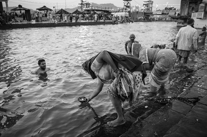 Haridwar, India...photo copyright Russell Shakespeare