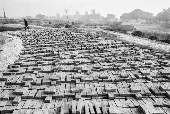 """Brickworks"" Varanasi, India. photo copyright : Russell Shakespeare"