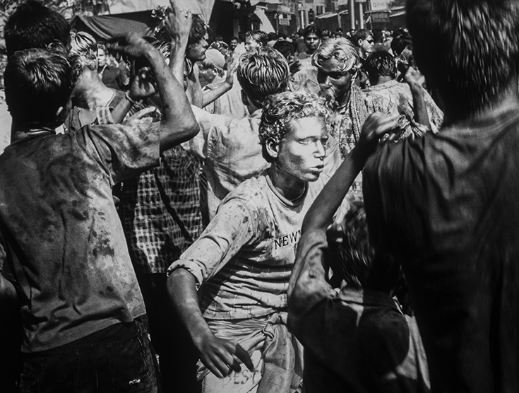 """Holi"" Varanasi, India. photo copyright : Russell Shakespeare"