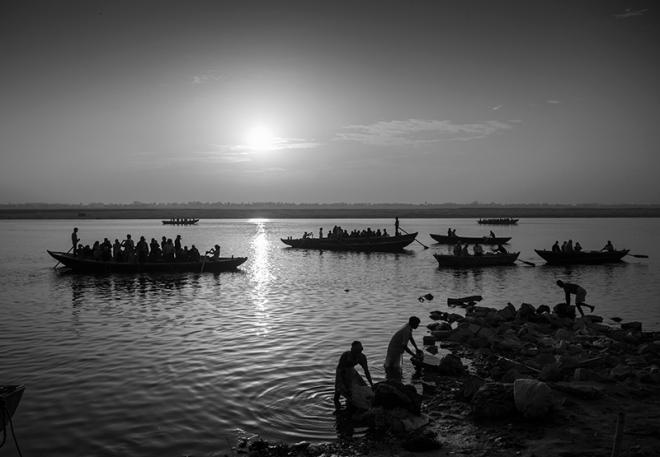 """""""Varanasi"""" India. photo copyright : Russell Shakespeare"""