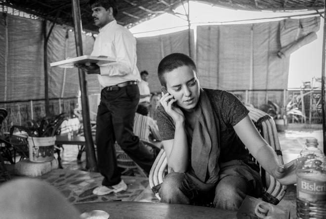 """""""Marisol Da Silva"""" New Delhi, India. photo copyright : Russell Shakespeare"""
