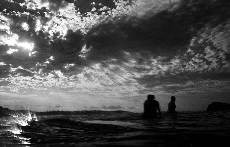 Swimmers, Currumbin. photo copyright : Russell Shakespeare