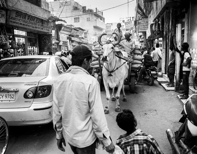 Pahaganj, New Delhi. photo copyright : Russell Shakespeare