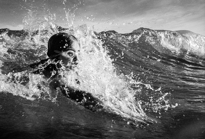 Bodysurfer, Currumbin. photo copyright Russell Shakespeare