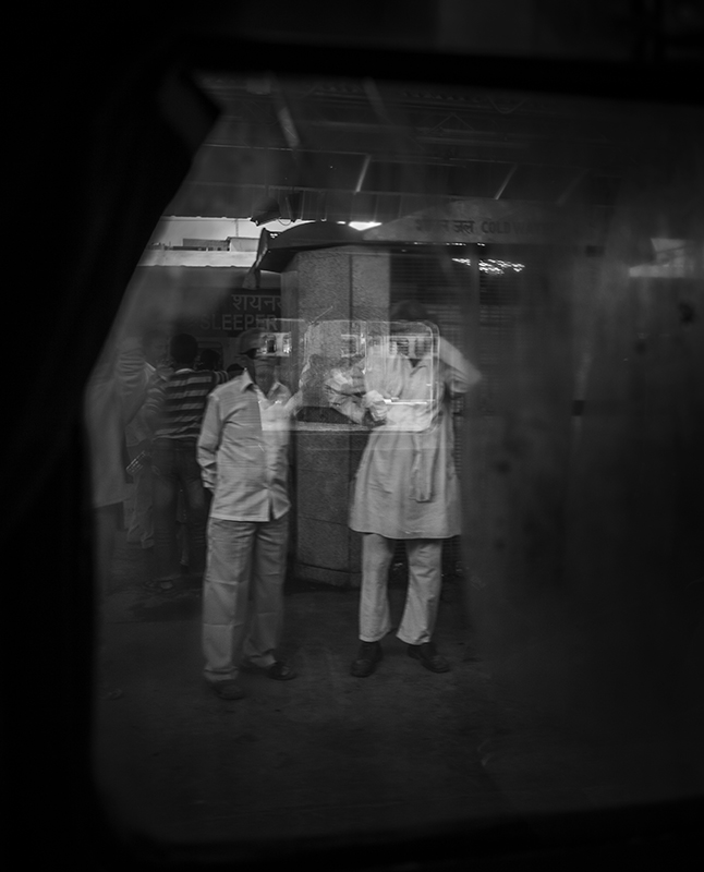 """""""View from my Train Window"""" Delhi, India. photo copyright : Russell Shakespeare"""