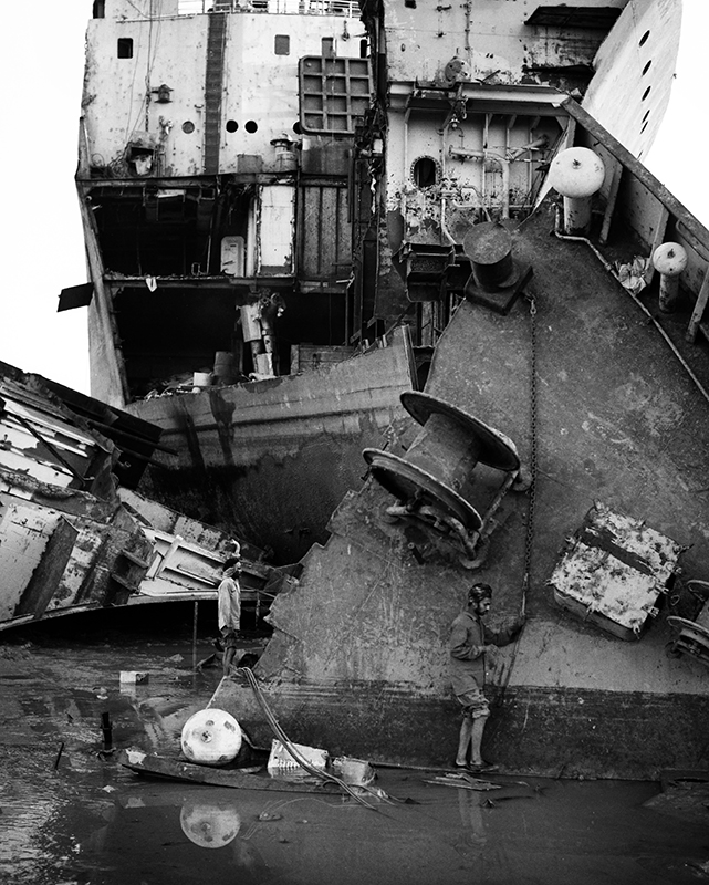 Alang Shipyards, India. photo copyright : Russell Shakespeare