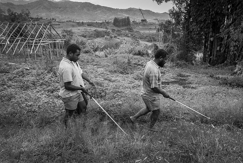 Mt Sion Centre for the Blind, Papua New Guinea. photo : Copyright : Russell Shakespeare