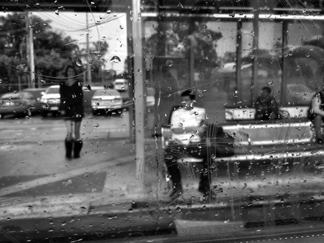 "from ""The Commute"" series. photo copyright : Russell Shakespeare"