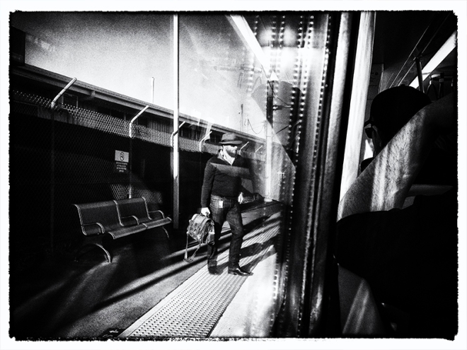"""The Commute"" copyright : Russell Shakespeare"